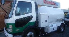 MITSUBISHI FUSO FIGHTER CISTERNA PARA GAS
